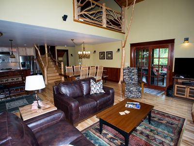 Photo for Spacious townhouse in Lake Placid with all amenities + 3 in-suite bathrooms