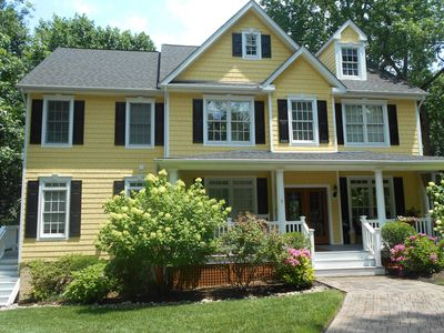 The Yellow House- on the water-
