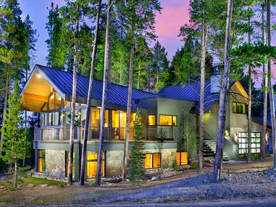 Photo for Mountain Modern Custom Home with Magnificent Views–Free Seasonal Shuttle-Hot Tub