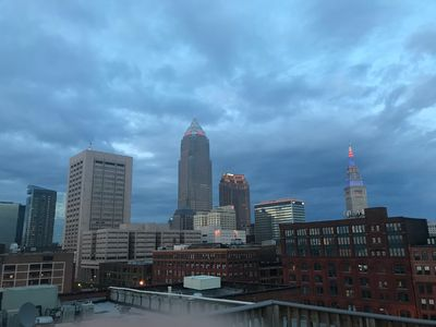 Downtown Cleveland Condo with City View!