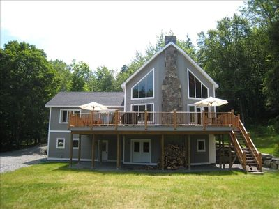 Photo for Beautiful, New Custom Built Timber Frame Home, Sleeps 12