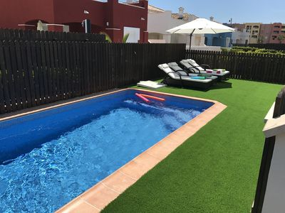 Photo for Luxury Detached Villa with private heated pool, air conditioning and TV / WiFi.