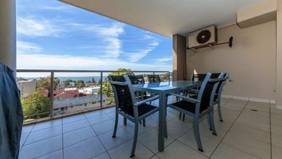 Photo for Ocean views and beyond, full linen & bed makes right in the centre of Nelson Bay