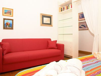 Photo for Lovely two bedrooms apartment in Via Torino