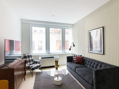 Photo for Sonder | Wall Street | Charming 1BR + Sofa Bed