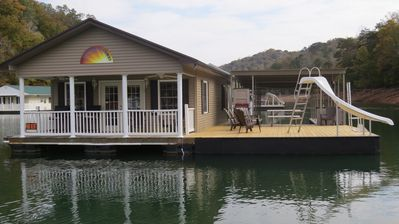 Photo for Beautiful Floating Home on Scenic Norris Lake in Lafollette, TN