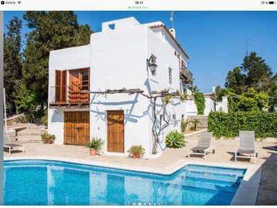Photo for Amazing Villa private pool in San Antonio, 5 minutes walking to the beach
