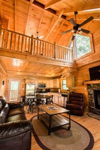 Huge Ceilings With Tons Of Hardwood!