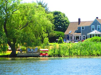 Photo for A Lovely Updated Antique Farmhouse On Simmonds Pond