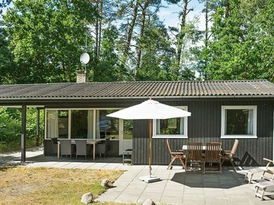 Photo for Cozy Holiday Home in Aakirkeby with Indoor Whirlpool