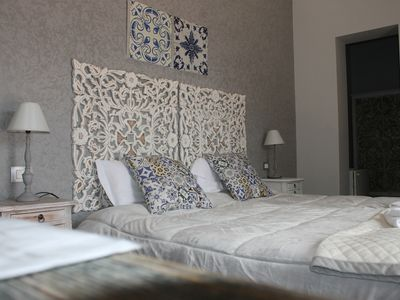 "Photo for ""SUPERIOR charming"" ROOM in the Villa with solarium, swimming pool, breakfast and parking"