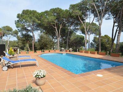 Photo for HOUSE SEA VIEW IN TAMARIU WITH PRIVATE POOL IN A VERY QUIET AREA
