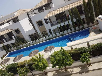 Photo for 2 Bedroom Spacious Apartment With Large Penthouse balcony
