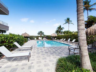 Photo for Step into the lap of luxury in this stunning 2-bedroom, 2-bath, beachfront condo.