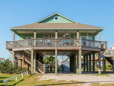 Photo for Expansive dog-friendly home with ocean views, prime location, & outdoor firepit