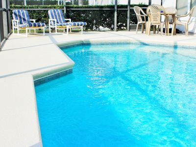 Photo for 12 min from Disney - 3 bedrooms - Private Pool