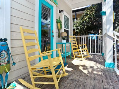 Photo for 👣 to the beach.  4+ Bedrooms.  Perfect family getaway on 30A!