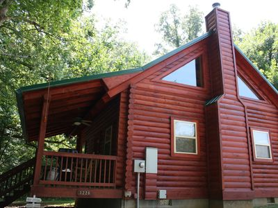 Photo for Log Cabin in East Tennessee For Rent By Owner