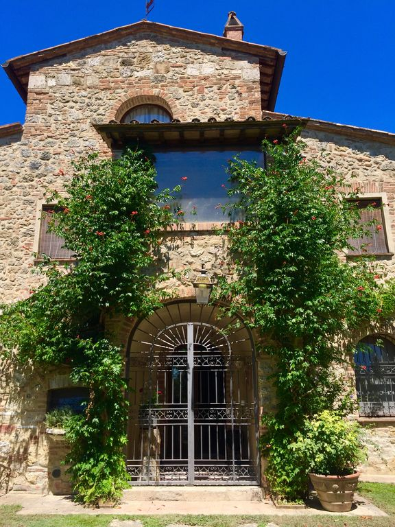 Property Image25 TOP Old Tuscan Farmhouse In Stone With Olive Gardens Pool Air Conditioner