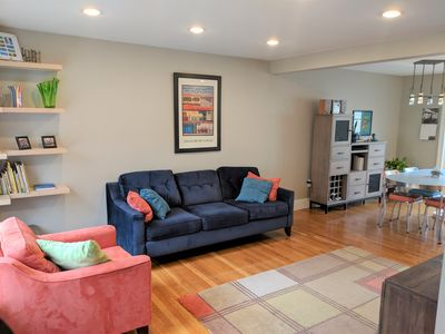 Photo for Sunny 3 bedroom townhouse in N. Cambridge 1900sf