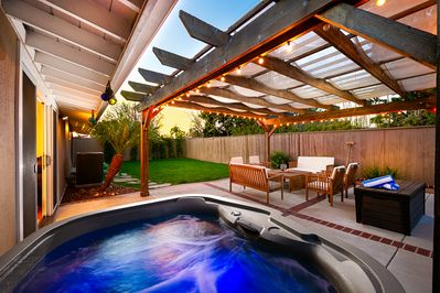 Catch the sunsets from your Spa Retreat in Costa Mesa!