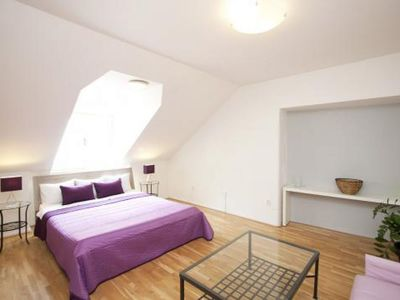 Photo for Old Town Terrace apartment in Staré Mesto with WiFi, private terrace & lift.
