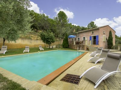 Photo for Vacation home Patifiage in Malaucène - 9 persons, 5 bedrooms