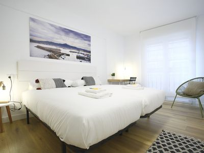 Photo for GUADALUPE: Design apartment in the center of Hondarribia