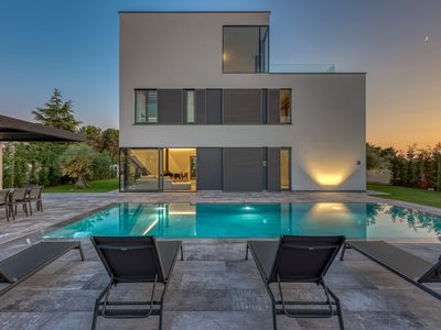 Photo for Modern Villa A, in Istria, with a Pool