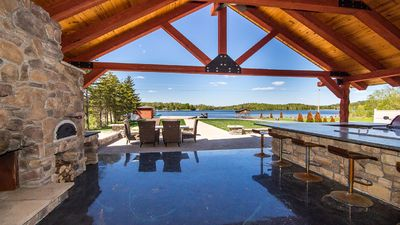 Photo for Lake Front All Season Vacation Luxury Home