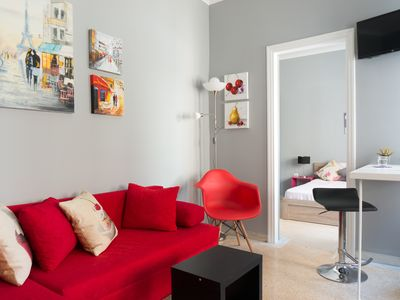 Photo for Deep Purple 1BR in central Athens by JJ Hospitality
