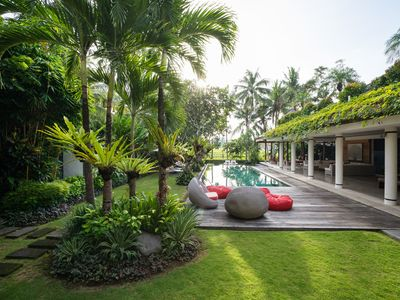 Photo for Canggu Spacious 4 Bedroom Imperial Villa with Private Cinema