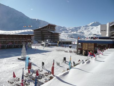 Photo for Les Arcs 2000 ski to door - Ideal for 2 families - Free Wifi