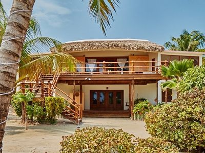 Photo for 5 Bedroom - 4 Bathroom - Barefoot luxury with stunning views of the Carribean