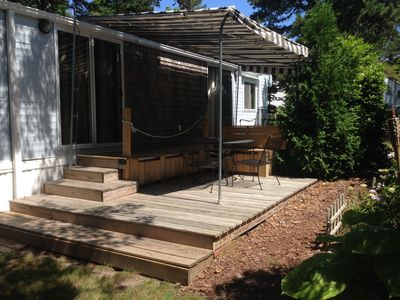 Photo for Wellfleet 2 bed, 1 bath mobile home in Summer Colony next to Audubon Society
