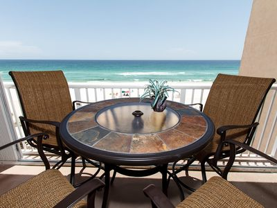 Balcony View - Right at your fingertips is the breathtaking Gulf of Mexico! Relax and enjoy!