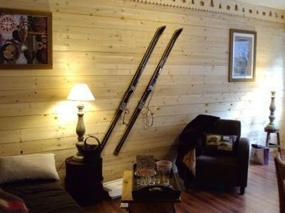 Photo for Cauterets holiday apartment 2 charming mountain decor items