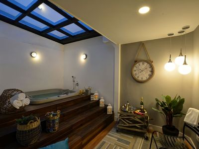 Photo for Huge Hot Tub Apartment in Exciting Neighborhood