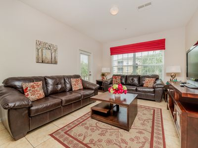 Photo for BOOK NOW FOR SPECIAL PRICES, Gorgeous Condo, Amazing Amenities, Near Disney!