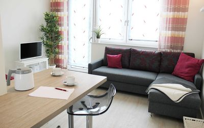 Photo for Apartment 45m² - pet-friendly - PRIMA Apartments - in the Seetor residence Neuruppin