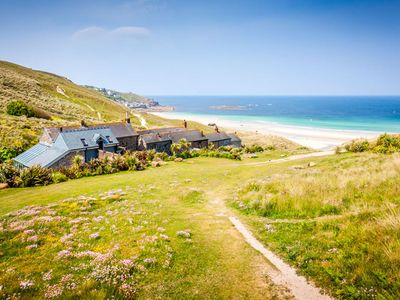 Photo for Basking Shark, Studio Cottage With Superb Sea Views By Beach