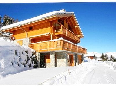 Photo for 5BR Chalet Vacation Rental in Les Collons, Val d'Hérens (4 Vallées)