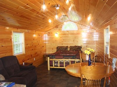 Photo for Vacation Rental Cabin, Keuka Lake Outlet-Trail, Wine Trail.  Brand New in 2016