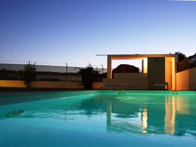 Photo for T2-2º sea view, swimming pool, BBQ 500m from Galé beach, to the beach you w