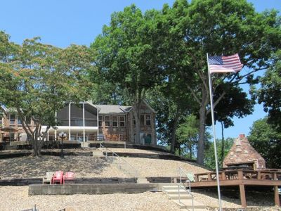 Photo for Million Dollar View, 2 Master Suites, Sleeps 10-12, Great Dock 16' X 36' Slip