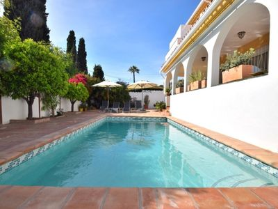 Photo for Nueva Andalucia Villa, Sleeps 6 with Pool and Air Con