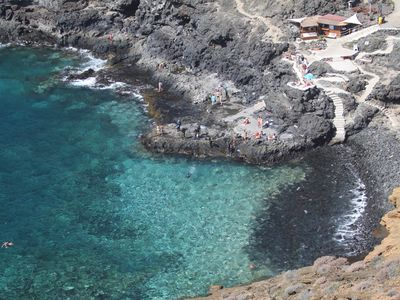 Photo for Apartment with access to swimming pool in south Tenerife, Costa del Silencio