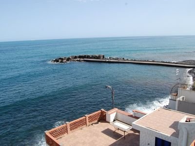 "Photo for Up to 6 guests Sea-front between Catania & Taormina - wi-fi by ""SunTripSicily"""