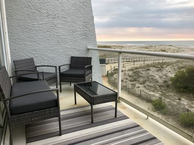 Photo for Best Beachfront ON the BEACH! Direct OCEAN FRONT VIEWS in Perfect OC NJ location