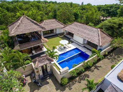 Photo for 3 Bedroom FAMILY VILLA  10min walk from  Jimbaran beach